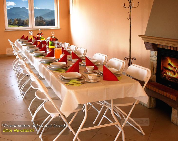 Krzesła cateringowe składane