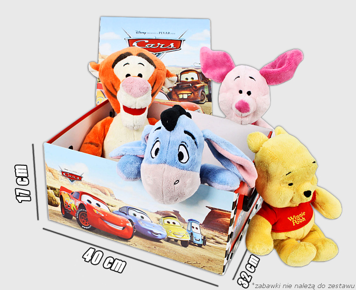 Pudełko Cars wymiary