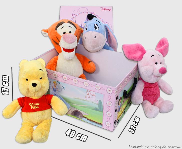 Duże pudełko na zabawki