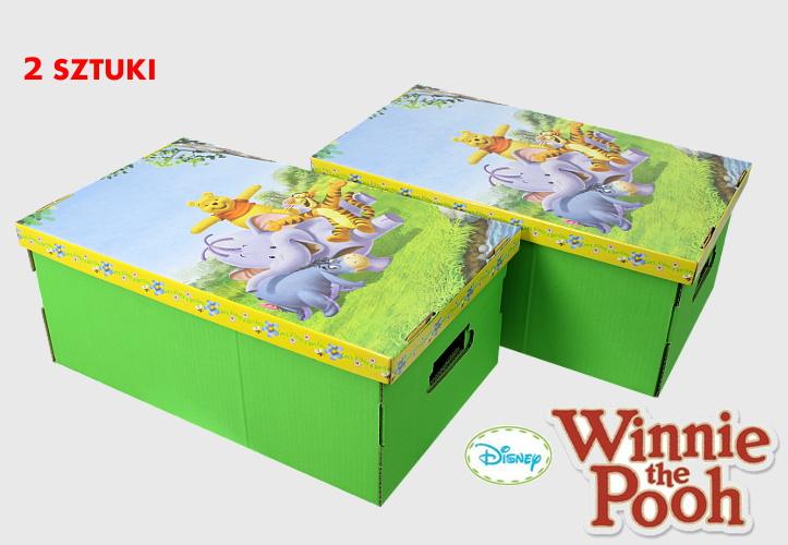 Kartonowe pudełko na zabawki