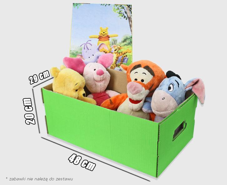Pudełko na zabawki dla dziecka